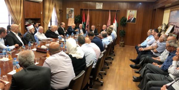 مؤسسات محافظة نابلس تدعم وتساند جامعة النجاح الوطنية