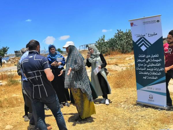 المركز الفلسطيني وجامعة القدس المفتوحة فرع يطا ينفذان نشاط باص الإعلام المجتمعي