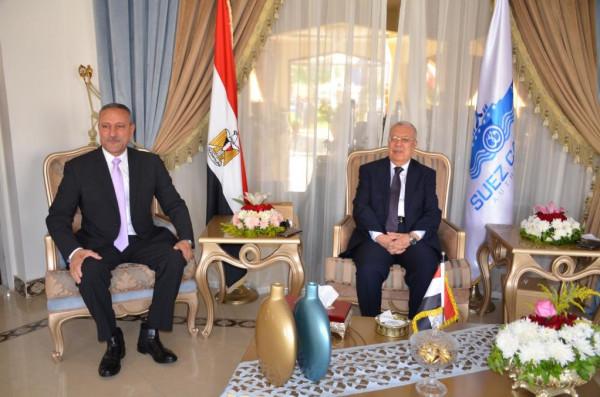 محافظ الإسماعيلية يشهد حفل تكريم المستشار محمود هانى رئيس محكمة الاستئناف السابق