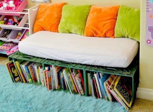9 أفكار لتنظيم الكتب في غرفة الأطفال