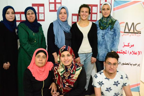 مؤسسة (CCFD-Terre solidaire) الفرنسية تزور مركز الإعلام المجتمعي