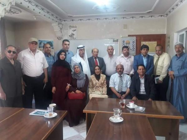 التجمع الفلسطيني للوطن والشتات يعقد لقاءً حوارياً
