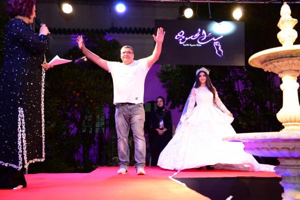 المصمم زكي بملال  يبدع في لباس الزفاف المغربي