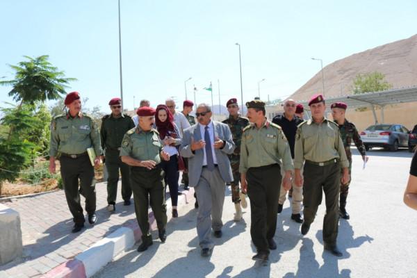 زيارة: أريحا من أولويات وزارة الاشغال وسنستمر بالمشاريع وفق الإمكانيات