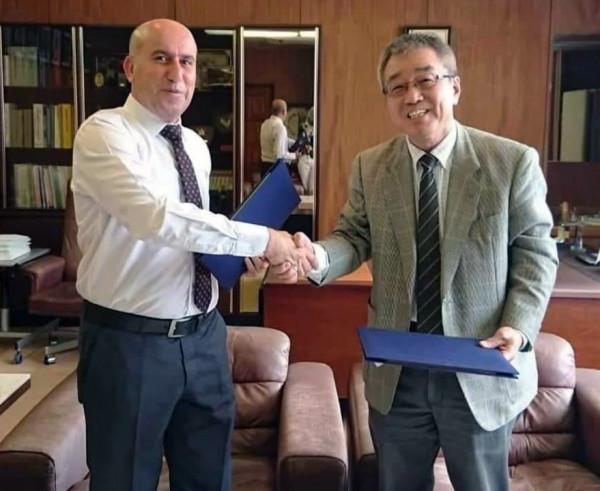 اتفاقية تعاون بين الجامعة العربية الامريكية وجامعة اوكاياما اليابانية