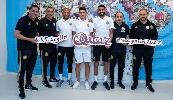 رياض محرز: قطر ستنظم نسخة استثنائية في مونديال 2022