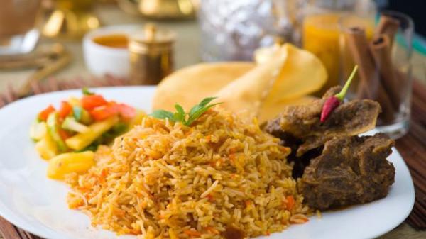 طريقة الأرز البرياني