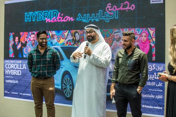 أول سيارة تويوتا كورولا هايبريد كهربائية تنضم لمجتمع الهايبريد في الإمارات   دنيا الوطن