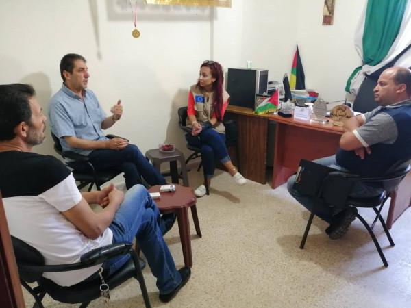 اللجان الشعبية بصيدا تقف على مشاريع المؤسسات الداعمة للاجئيين الفلسطينين
