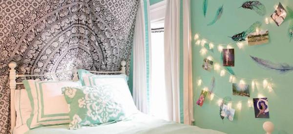 طرق تطبيق الديكور البوهيمي في غرف النوم