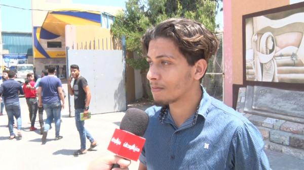 """شاهد: تباين آراء طلبة الثانوية العامة بغزة حول امتحان """"الفيزياء"""""""