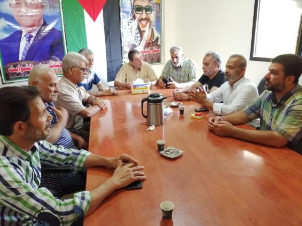 لجنة حطين تلتقي اللجنة الشعبية في مخيم عين الحلوة