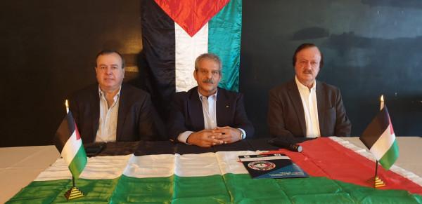 الاتحاد الفلسطيني في أمريكا اللاتينية يدعو إلى الوحدة الفلسطينية