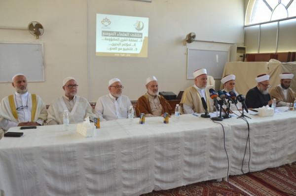علماء دين لبنانيون وفلسطينيون يعلنون موقفا شرعيا برفض (صفقة القرن)