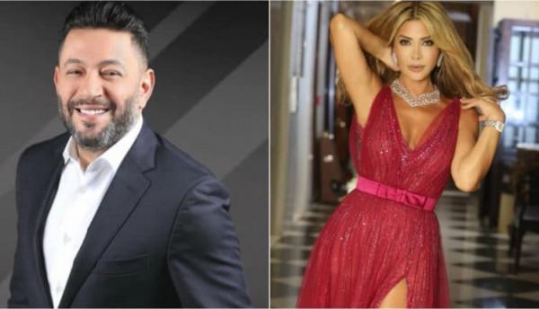 نوال الزغبي وزياد برجي.. غزل وقبلات وصور متبادلة بعد انفعال الأخير