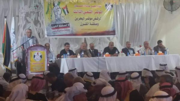 ناصر: صفقة ترامب وورشة البحرين لا وظيفة لها سوى إبعاد الأنظار عن الاحتلال