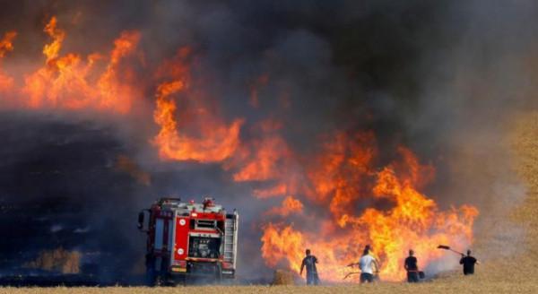 غلاف غزة َيشتعل مُجدداً