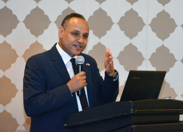 رئيس أكاديمية البحث العلمي يفتتح دورة تدريبية مصرية- أمريكية بمجال تسويق التكنولوجيا