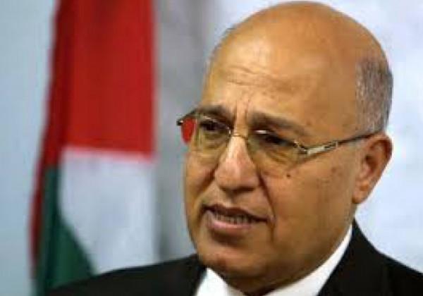 شعث يطلع رئيس تحالف الفتح بالبرلمان العراقي على الأوضاع في فلسطين