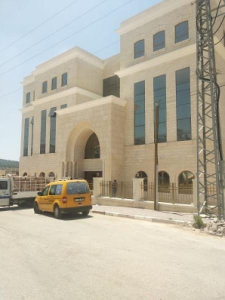 الأشغال العامة تُنجز مبنى محكمة سلفيت بتكلفة أربعة ملايين يورو