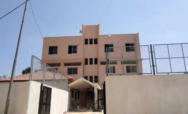 """""""التربية"""" تتسلم مشروع توسعة وصيانة مدرسة عزبة الطبيب في قلقيلية"""