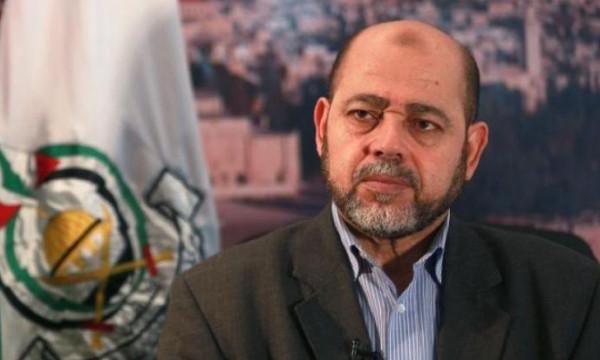 أبو مرزوق: عزام الأحمد تحدث معي وجاهزون للقاء قيادة فتح