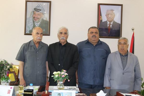 محافظو قطاع غزة يؤكدون مبايعتهم للرئيس في مواجهة صفقة القرن وورشة المنامة
