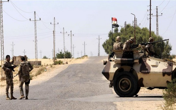 الجيش المصري يُحبط هجومًا مسلحًا في العريش