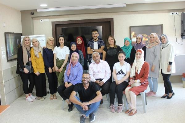 مؤسسة ياسر عرفات تختتم الدورة التدريبة الخاصة بمنشطي مخيمات ياسر عرفات الصيفية