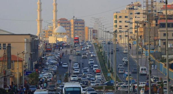 حالة الطرق في قطاع غزة صباح اليوم الخميس