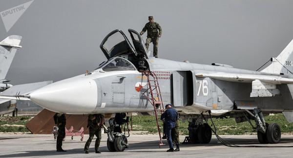 هجوم بطائرة مُسيرة على قاعدة حميميم الروسية بسوريا