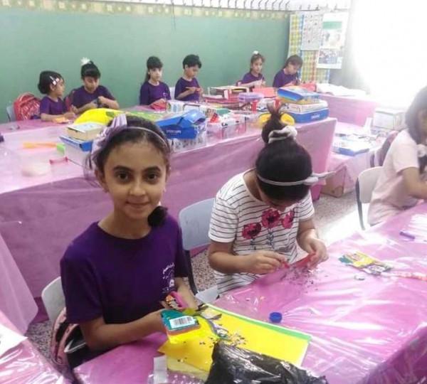 الثقافة في طولكرم تنظم ورشة فنية في نادي الإسراء الصيفي