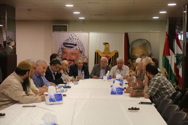 دبور يؤكد على تعزيز العمل الفلسطيني المشترك