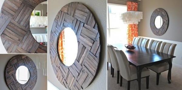 10 أفكار لتزيين مرايا المنزل بطريقة فنية