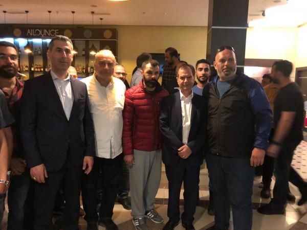 السفير ابو زيد يعود مصابي الأعتداء في كازاخستان