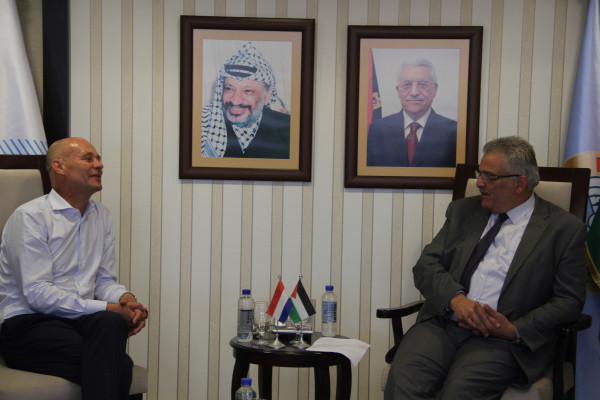 الاوقاف تتسلم مقام النبي موسى من UNDP بحلته الجديدة