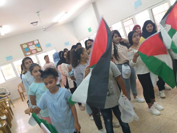 تنمية جنين بالشراكة مع مع المجلس الأعلى للشباب المخيم الصيفي (شقائق النعمان)
