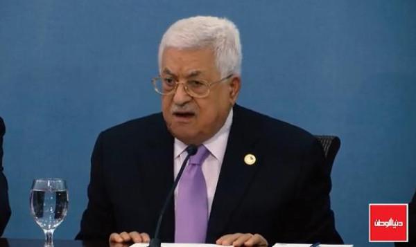 شاهد: الرئيس عباس يكشف تفاصيل تاريخية عن اتفاق أوسلو
