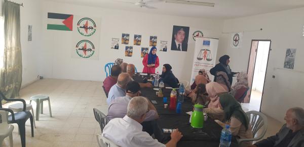 كتلة نضال المرأة وجمعية الشبان المسيحية تنظمان ورشة عمل حوارية في طولكرم