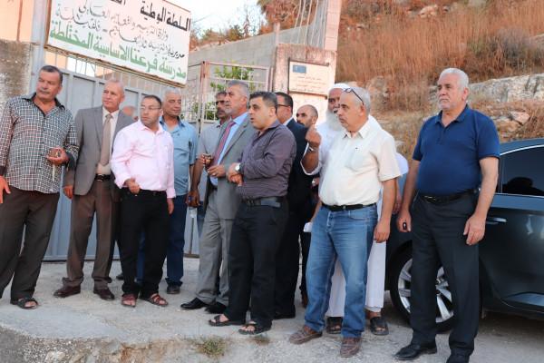 الصالح يتفقد مشاريع قيد التنفيذ في عدد من الهيئات المحلية بمحافظة قلقيلية