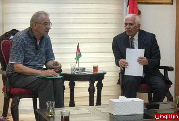 حميد يؤكد على المكانة المهمة لدير كريمزان ببيت جالا دينيا وجغرافيا وسياسيا