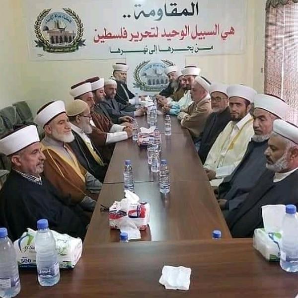 مجلس علماء فلسطين بلبنان يطالب بإعلان الانتفاضة الثالثة في كل فلسطين