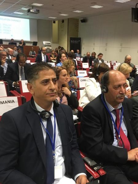 المجلس الوطني الفلسطيني يشارك في اجتماعات الجمعية البرلمانية المتوسطية في ميلانو