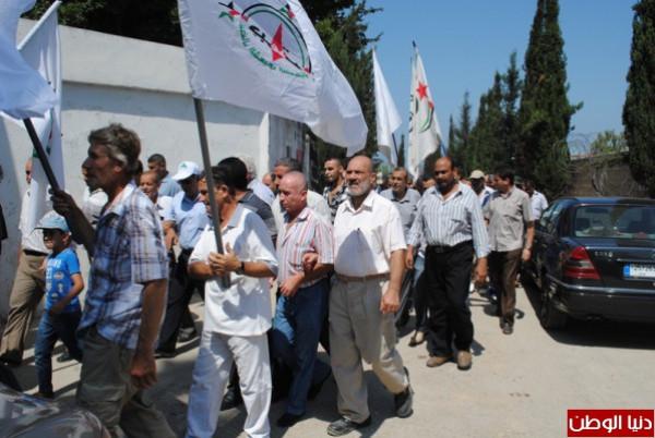 """وفد قيادي من النضال الشعبي يشارك بمؤتمر""""متحدون ضد (صفقة القرن)"""" في بيروت"""
