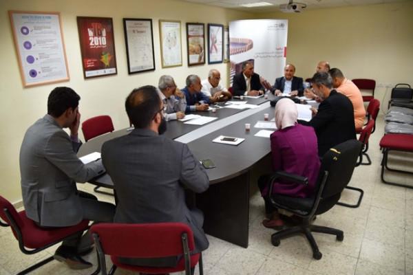بلدية دورا تزور وزارة الصحة لمتابعة آليات تشغيل مستشفى دورا الحكومي