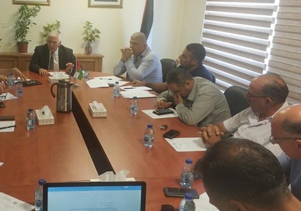 اللجنة التوجيهية لمنطقة بيت لحم الصناعية تصدر توصيات عملية لضمان استمرار تطويرها