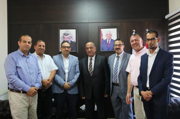 الشلالدة يجتمع مع وكيل وزارة الداخلية والهيئة المستقلة لمتابعة آلية منع التعذيب   دنيا الوطن