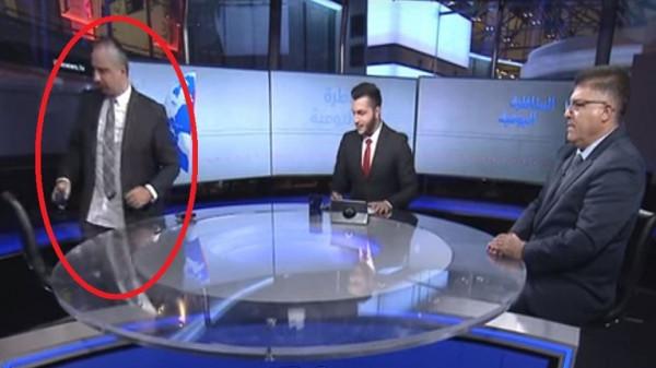 شاهد: مُحلل سياسي إسرائيلي ينسحب من مناظرة تلفزيونية بعد شتم الملك السعودي