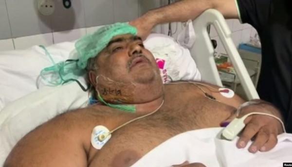 نهاية قاسية لحياة أسمن رجل في باكستان