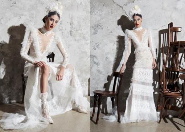 تألقي في زفافك بفستان من تصاميم زهير مراد 2020